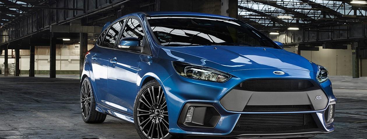 Officiëel: de nieuwe Ford Focus RS