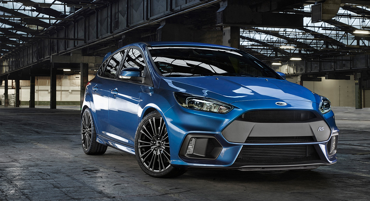 Officiëel: de nieuwe Ford Focus RS