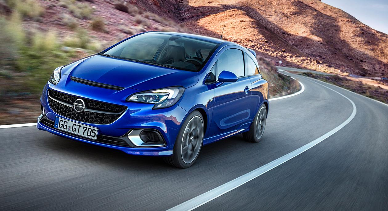 Nieuw: Opel Corsa OPC