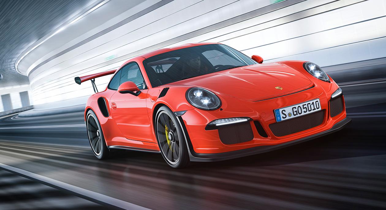 Nieuw: Porsche 991 GT3 RS