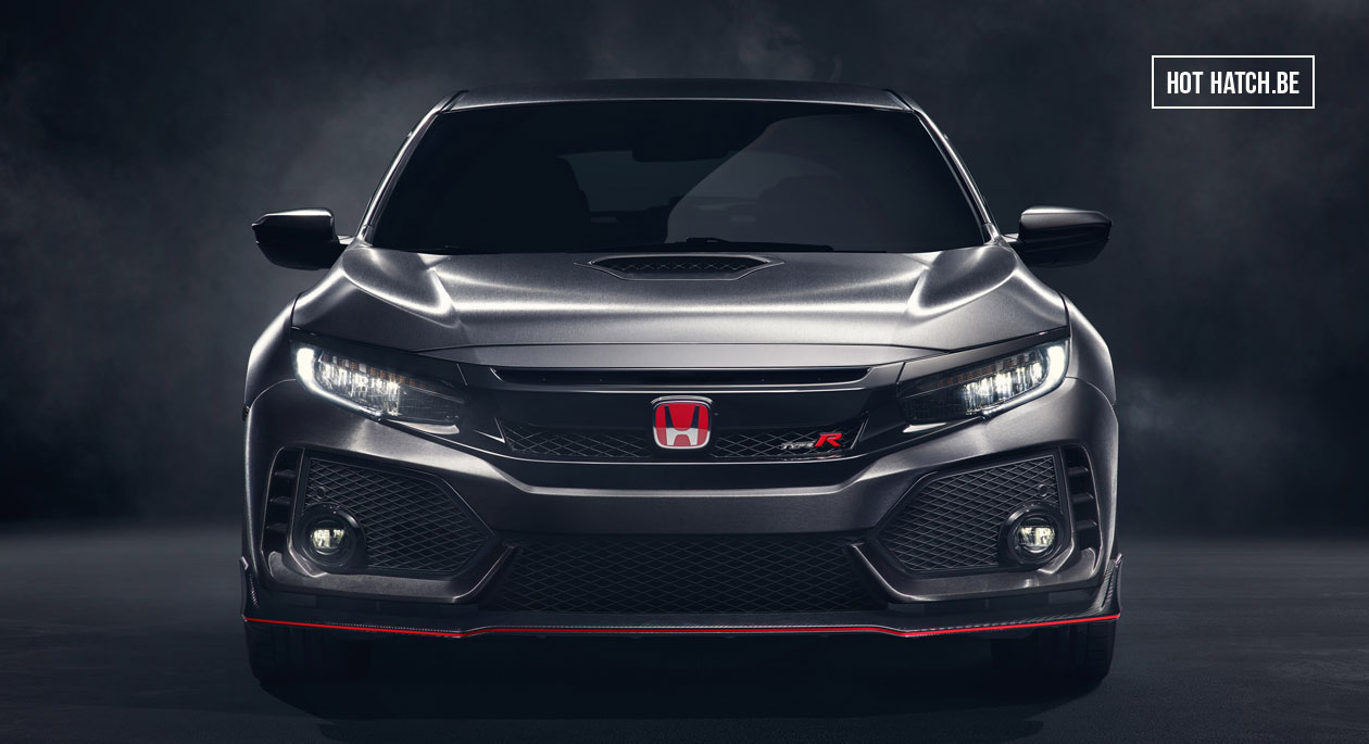 Honda Civic Type R 2017 onthuld !