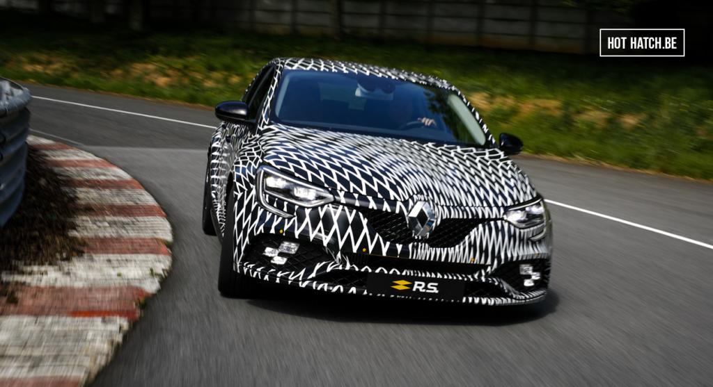 Teaser: de nieuwe Renault Megane RS