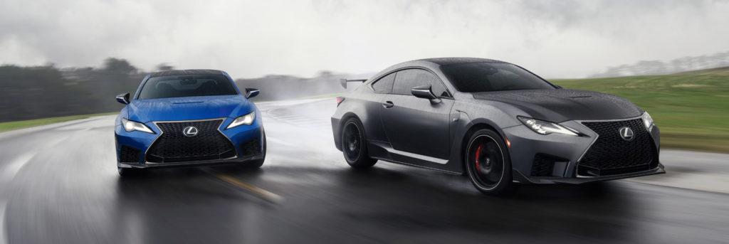 Vernieuwde Lexus RC-F (+ Track Edition!)